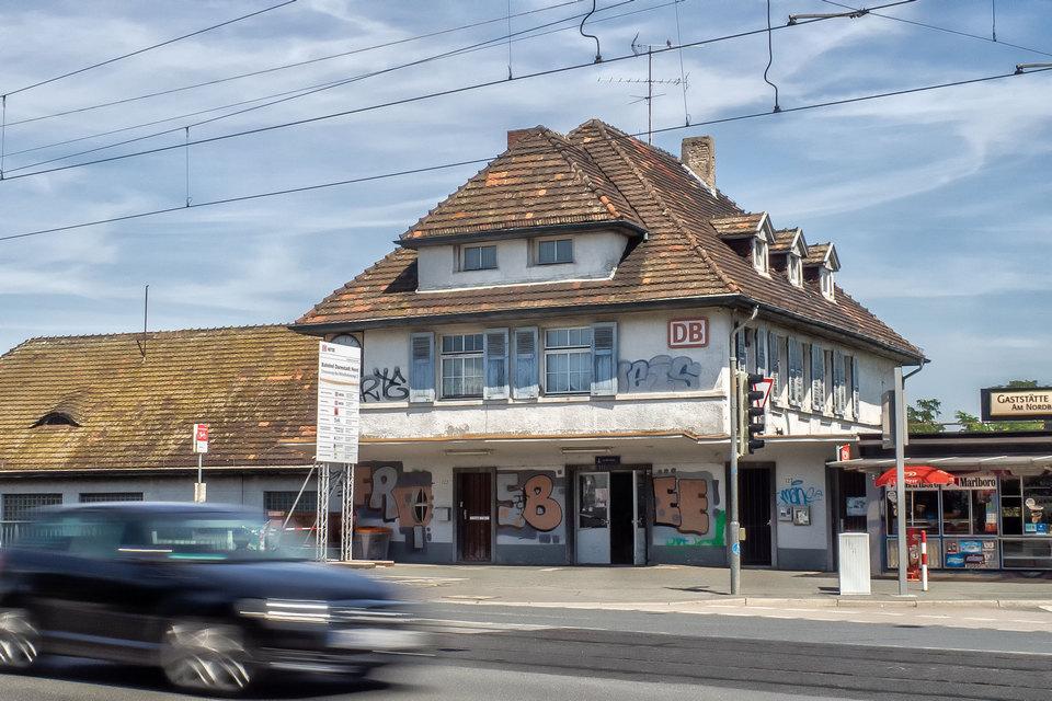 Der Darmstädter Nordbahnhof